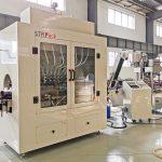 Máquina automática de recheo de botellas de líquido, máquina de recheo de ácido lixivia Clorox