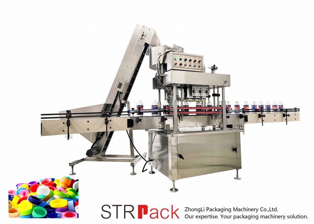 Máquina automática de tapa lineal