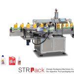 Máquina automática de etiquetado autoadhesivo único / dobre