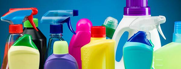 Máquinas de recheo de produtos de limpeza doméstica
