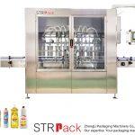 Máquina automática de recheo de líquidos tipo pistón