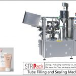 Máquina de recheo e selado de tubos plásticos SFS-100