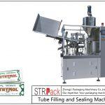 Máquina de recheo e selado de tubos metálicos SFS-60Z