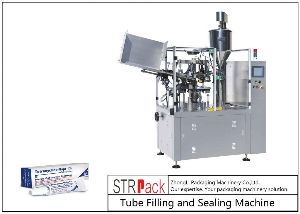 Máquina de recheo e selado de tubos metálicos SFS-80Z