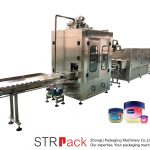 Máquina de recheo de líquido vaselina Máquina de recheo e refrixeración automática de vaselina